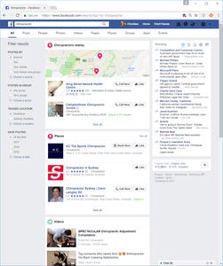 Facebook-Chiro-Search